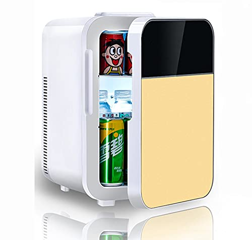 Refrigerador para automóvil, mini refrigerador portátil para el hogar, equipado con refrigerador inteligente, congelador de aislamiento de CA y CC 20L es muy adecuado para viajes Dual core