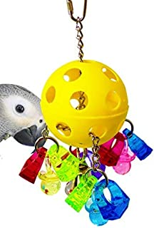 acrylic parrot toys