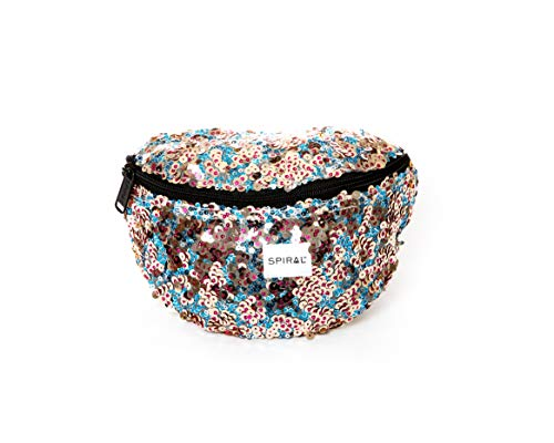 Spiral Infinity Sequins - Gala Bum Bag Sac Banane Sport 23 Centimeters 2 Multicolore (Multicolour)
