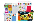 FERRETERIA LEPANTO Puzzle para Niños de +3 Años. Conjunto de 4 Unidades de Puzzles Infantiles Ideales para Aprender