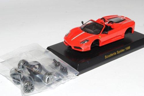 Kyosho Ferrari F430 Spider Cabrio Rot 16M 2004-2009 Bausatz Kit 1/64 Sonderangebot Modell Auto