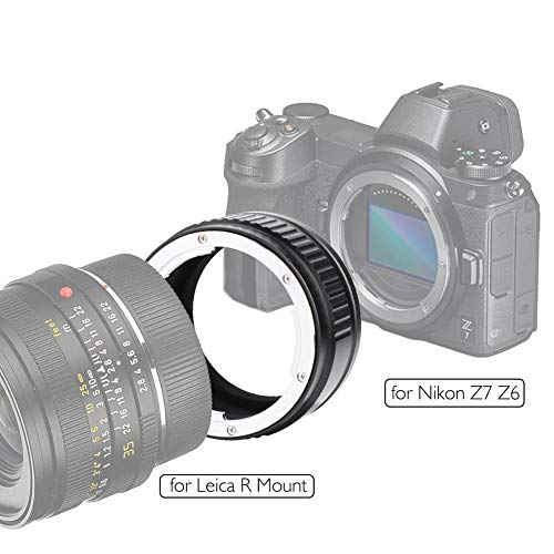 Topiky LR-NZ adapter voor Leica R Mount en Z Mount Lens voor Full Frame camera voor Nikon Z6 Z7 adapterring