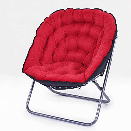 DS-chaise Chaise Lune-Chaise Canapé Lazy Simple Chambre Simple Salon Salon Mignon Pliant Balcon Inclinable && (Couleur : A)