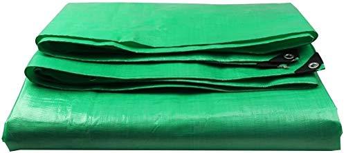 YUEDAI Impermeables Sheet Covers Espesa la Lona Lona de Tierra de toldo Carpa de Tela for Trabajo Pesado Reforzado a Prueba de Lluvia Cortina del Sol al Aire Libre, Multi tamaños 180g / m²