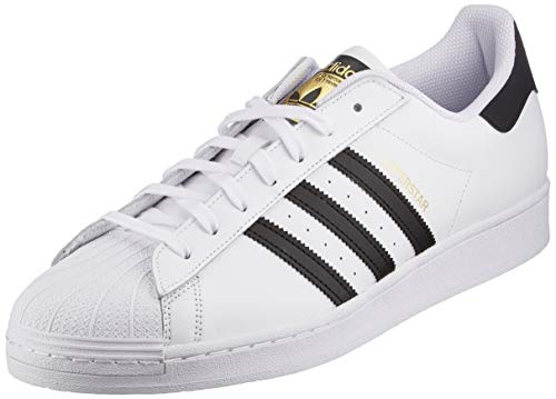 adidas Originals Superstar, Scarpe da Ginnastica Uomo, Ftwr White Core Black Ftwr White, 44