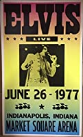 ショープリント・ポスター伝説のロック ELVIS PRESLEY エルヴィス・プレスリー 1977