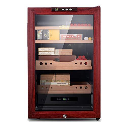 Xing Hua home Zigarren-Zubehör Zigarrenschrank Schrank Für Konstante Temperatur Und Luftfeuchtigkeit Elektronischer Feuchtigkeitsschrank Für Den Haushalt Zedernholz Sichere Kindersicherung