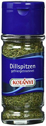 Kotanyi Dillspitzen gefriergetrocknet, 4er Pack (4 x 7 g)