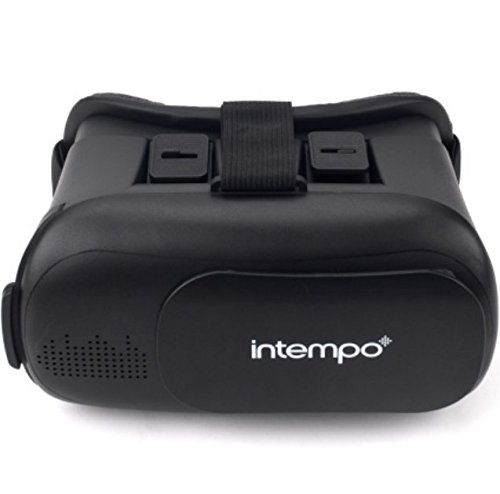 3D Virtual Reality Headset with Earbuds