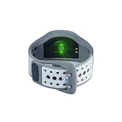 ETTG TT-S108 Bluetooth Health Waterproof Bracelet Heart Rate Monitor Wristband Bluetooth Watch for Fitness Tracker/Heart Rate/Sleep Quality Monitoring/Sport Pedometers by ETTG