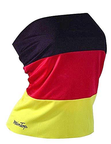 Gr. S TOP ROCK Deutschland Elastan Damen Trikot Fussball Olympia Fanartikel Fan WM sexy Shirt Fahne KBV