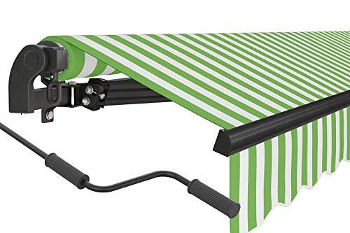 empasa manuelle Gelenkarmmarkise Markise 'Start' Sonnenmarkise Sonnenschutz viele Farben und Größen wählbar Alu/Polyester