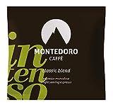 Montedoro Caffe` Intenso - Classic Blend - 150 Espresso E.S.E Coffee Pods.