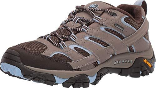 Merrell womens Moab 2 Gore-tex? Hiking Shoe, Brindle, 10.5 US