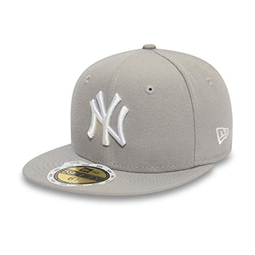 New era New York Yankees Kids Basecap MLB League Basic Grey/White - Kids 6 3/8