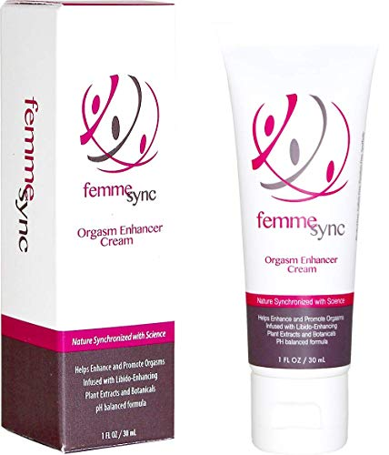 Femme Sync - Orgasm Enhancer - Female Arousal Cream - Libido Enhancing Plants and Botanicals - Unscented - Dermatologist Tested, Gynecologist Recommended