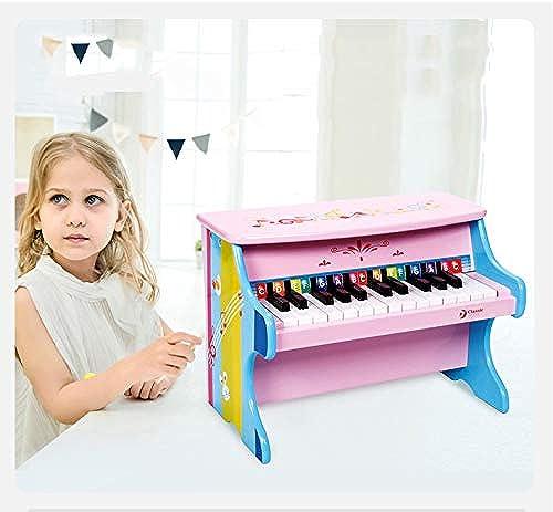 Kinder Classic Wooden Piano Mini Piano Geeignet für 2-3-6 Jahre alt Kinder Musikinstrument Baby Piano Sound Aufkl ng Spielzeug