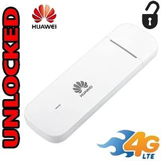 Modem USB 4G LTE Unlocked Huawei E3372 (4G LTE USA Latin & Caribbean) 150 mbps Support External Antenna