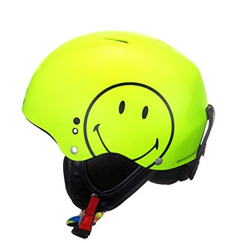 HMR Helmets Z1 Smiley FLUO geel skihelm snowboardhelm unisex