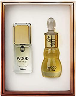 Ajmal Perfumes Wood in love by Ajmal Perfumes - perfume for men and - perfumes for women - Eau de Parfum 14ml & Perfume Oi...