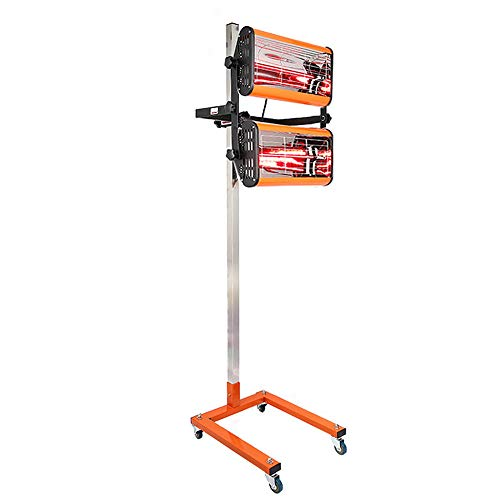 YIYIBY essiccatore a spruzzo di vernice a infrarossi riscaldatore corpo a onda corta pannello lampada di indurimento 2X1000W 220 V