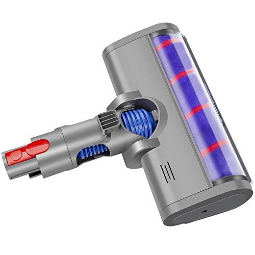 ARyee Soft Roller Head Cleaner Bodenbürste Kompatibel mit Dyson V7 V8 V10 V11 Serie Akku-Staubsauger