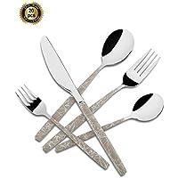 20-Pieces Hf Hoften Spoon Knife Cutlery Set