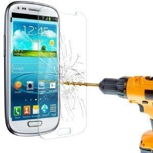 Kobert - Goods gehard glas film beschermend glas screen protector film van gehard glas 0,3 mm dun voor iPhone, Samsung, HTC, Kindle en vele andere mobiele telefoons en tablets, Samsung Galaxy S3 Mini