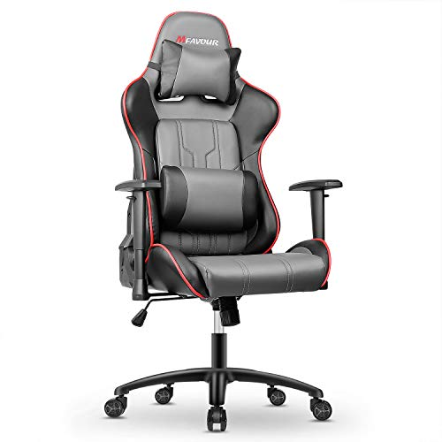 mfavour Gaming Racing Chair PC Office Chair Heavy Duty Chair Racing Style...