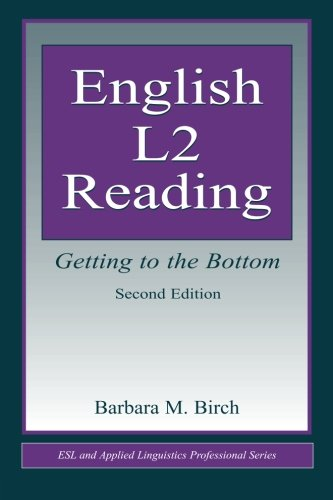 English L2 Reading (ESL & Applied Linguistics Professional Series)