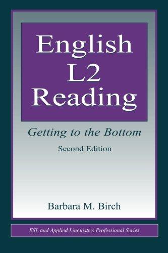 English L2 Reading (ESL & Applied Linguistics...
