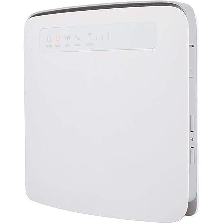 Bewinner Router inalámbrico 4G, CAT6 300Mbps Dual WiFi Soporte Tarjeta SIM para 64 usuarios CPE Router inalámbrico 4G LTE, Interfaz de Antena Dual ...