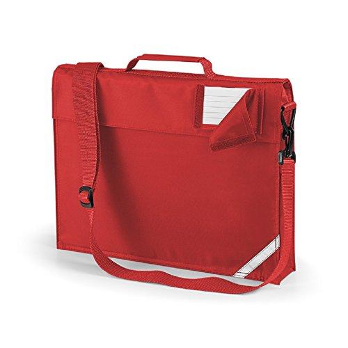 Quadra Junior Büchertasche, Helles Rot,