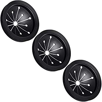 3 pcs Garbage Disposal Splash Guards Sink Baffle Disposal Replacement Multi-function Drain Plugs food Waste Disposer Accessories for Whirlaway Waste King Sinkmaster and GE Models - Guard Measures