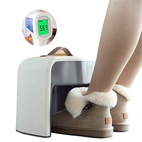 Winter-FußWärmer, Infrarot-Elektroheizung, Intelligente Induktion, 4-Stunden-Abschaltautomatik, ABS-Material,...