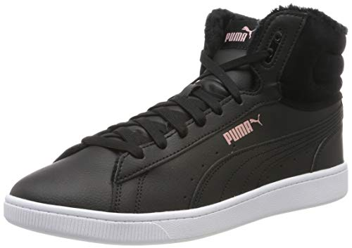 Puma Damen Vikky v2 Mid WTR Hohe Sneaker, Black-Bridal Rose White, 37 EU
