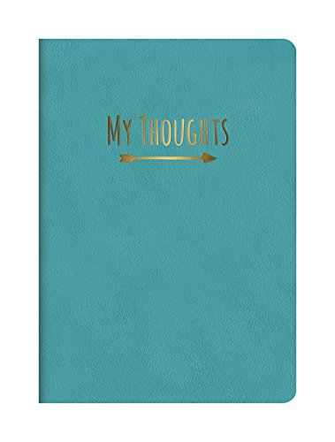 Studio Oh! Medium Leatheresque Journal, My Thoughts Nearly Teal