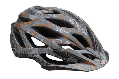 Bell Sequence MTB Fahrrad Helm schwarz/orange 2013: Größe: M (55-59cm)