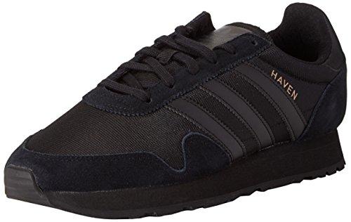 adidas Herren Haven Fitnessschuhe, Schwarz (Core Black/Core Black/Core Black), 45 1/3 EU