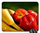 Mouse Pad - Bananas Nectarines Fruit Vegetarian Delicious