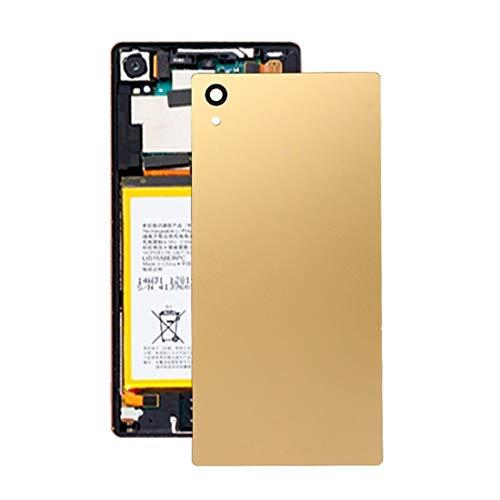 BACKBATTERYDOOR/Tapa de la batería Trasera para Sony Xperia Z5 Premium, Reemplazo para la Cubierta de Vidrio de la cámara Trasera (Color : Gold)