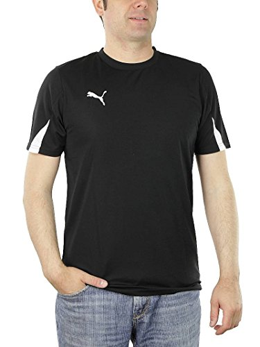 PUMA KC Team Ticino Herren Trikot T-Shirt schwarz Trainingstrikot, Bekleidungsgröße:S