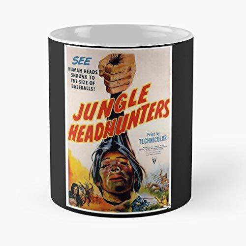 OriginalFavorites Ray Headhunters VHS Blu Director Cinema DVD Movie Film Jungle Best 11 Ounce Ceramic Coffee Mug Gift