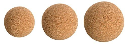Korkkugel Faszienball aus Kork. Faszien & Triggerpunkt-Massage Fitness Yoga 8cm