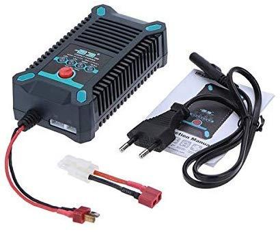 SODIAL Caricabatteria Imax B6 12V Caricabatterie Bilanciamento Lipro 80W Caricatore Nimh Li-Ion Ni-Cd Digital Caricabatterie 12V 6A Caricabatterie Senza Spinotto
