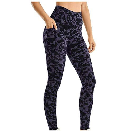 Leggings con funda para teléfono móvil, pantalones de deporte de compresión, push up, leggins opacos, cintura alta, para yoga, fitness, ropa de calle, c, M