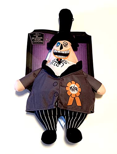 Tim Burton's 18 Inch The Nightmare Before Christmas The Mayor Hanging Plush - Two Faces