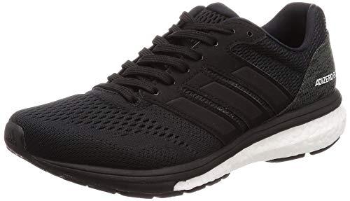 adidas Women's Adizero Boston 7 W Fitness Shoes, Black (Negbás/Ftwbla/Carbon 000), 5 UK
