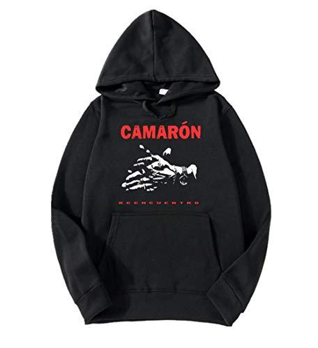 Sudadera CAMARON DE LA Isla REENCUENTRO Capucha e Impresion Premium 300 grs (L)