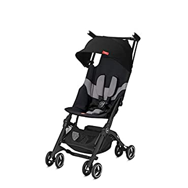 gb Pockit  All-Terrain Stroller, Velvet Black
